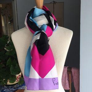 Vintage Pierre Cardin silk scarf madein France🇫🇷
